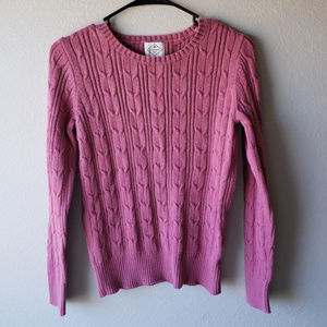 Vintage St. John Bay Sweater Quilted Thick Size S